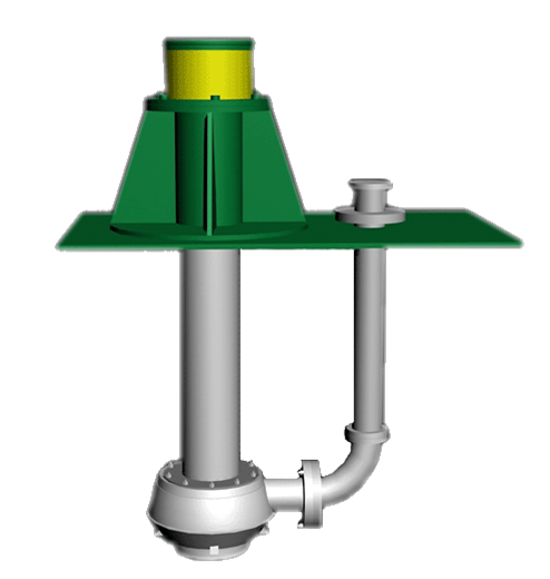 Vertical sump pump