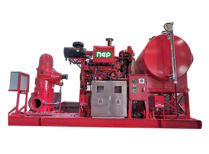 Diesel Engine Fire Pump of CNOOC Caofeidian Offshore Platform project delivery o